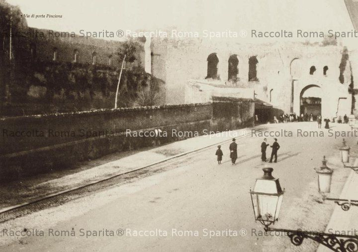 Roma sparita via di porta pinciana - Via di porta pinciana 34 roma ...