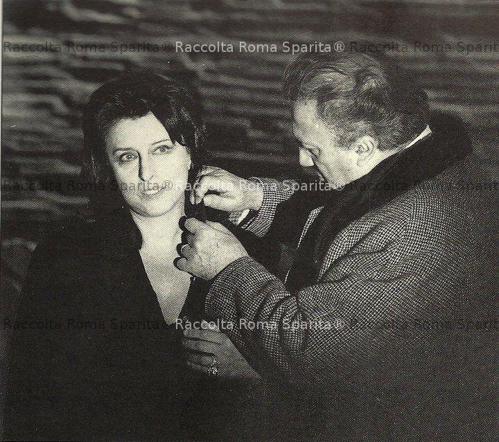 Magnani e Fellini