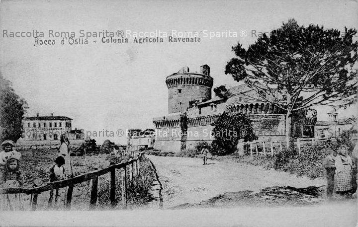 Borgo di Ostia - Il Castello di Giulio II