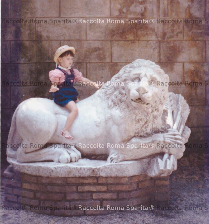 Il Leone di Villa Borghese
