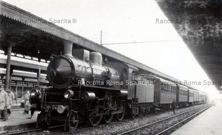 Stazione di Roma Termini - Locomotiva 640.047