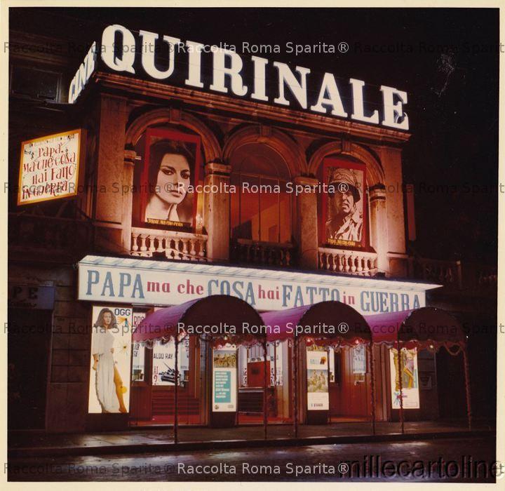 Via Nazionale - Cinema Quirinale