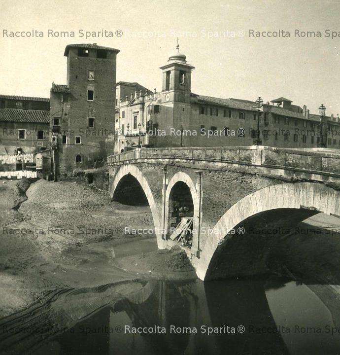 Ponte Fabricio e torre della Pulzella