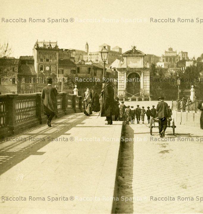 Ponte Sisto verso piazza Trilussa