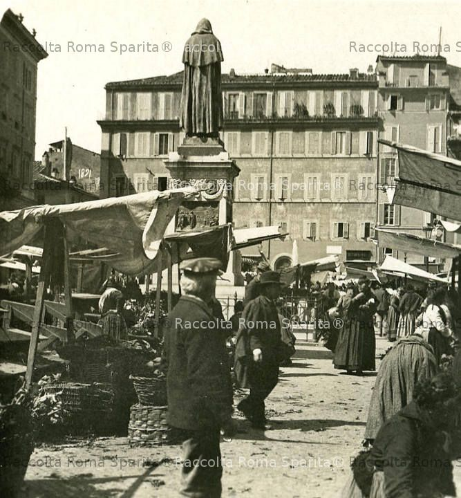 Il mercato di Campo de' Fiori