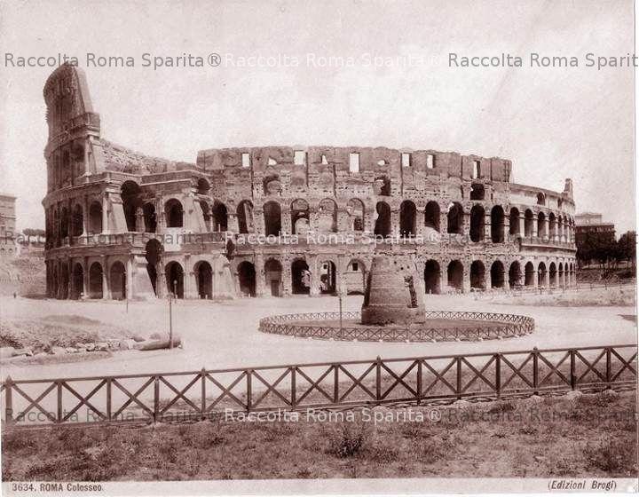 Colosseo e Meta Sudans