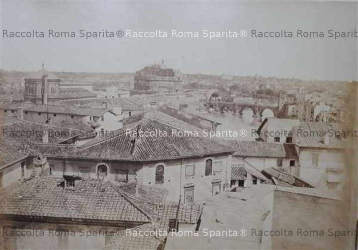 Panorama verso Castel Sant'Angelo