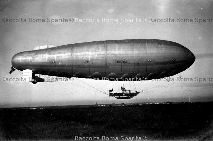 Il dirigibile che volerà su Roma