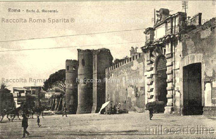 Piazzale Appio e Porta San Giovanni