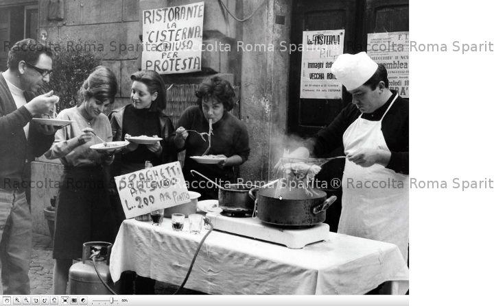 """Ristorante """"La Cisterna"""" chiuso per protesta"""
