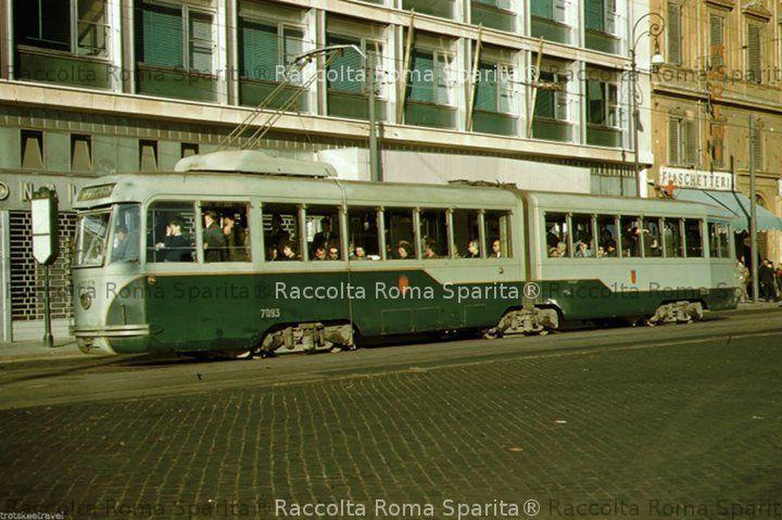 Via Marsala - Tram ATAC 7093