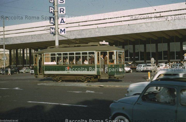 Piazza dei Cinquecento - Tram ATAC 1021