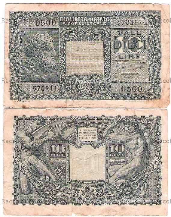 Banconota da 10 lire