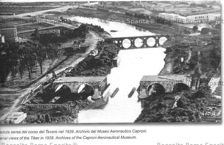 Roma sparita tevere for Ponte del secondo piano