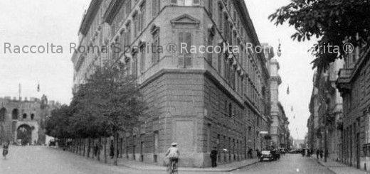 Via di porta pinciana archives roma sparita foto storiche - Via di porta pinciana 34 roma ...