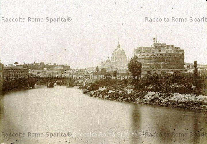 Il Tevere, San Pietro e Castel Sant'Angelo