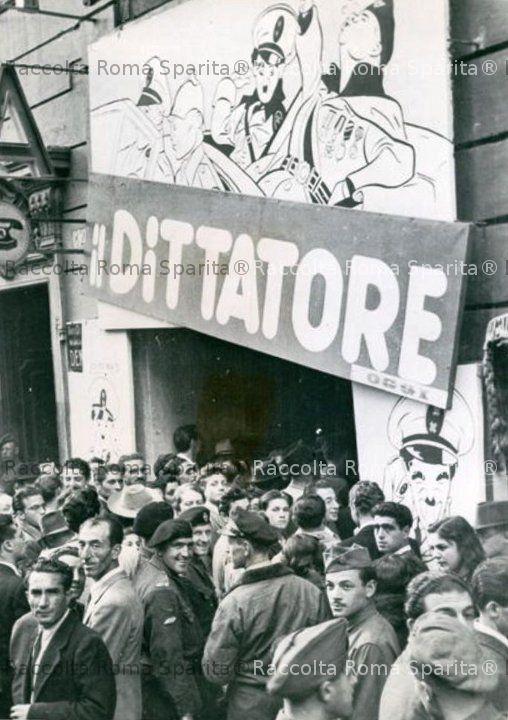 Via del Tritone - Cinema Splendore