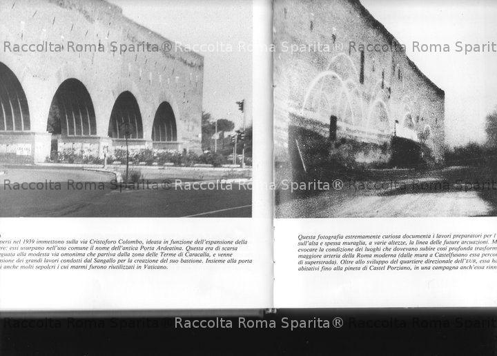 Roma sparita porta ardeatina - Via di porta ardeatina ...