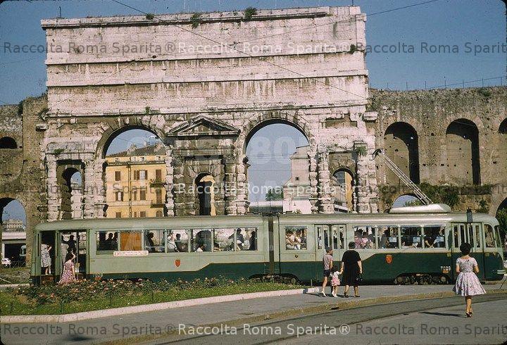 Roma sparita porta maggiore - Rome porta maggiore ...