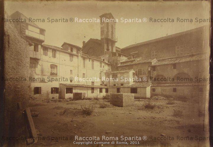 Demolizione del convento dell'Ara Coeli