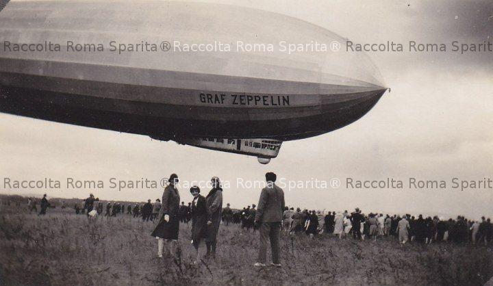 Aeroporto di Ciampino - Dirigibile Zeppelin