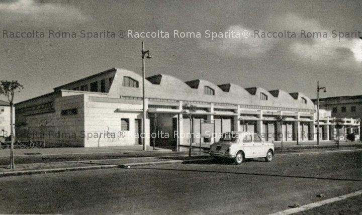 Mercato coperto di Villa Gordiani