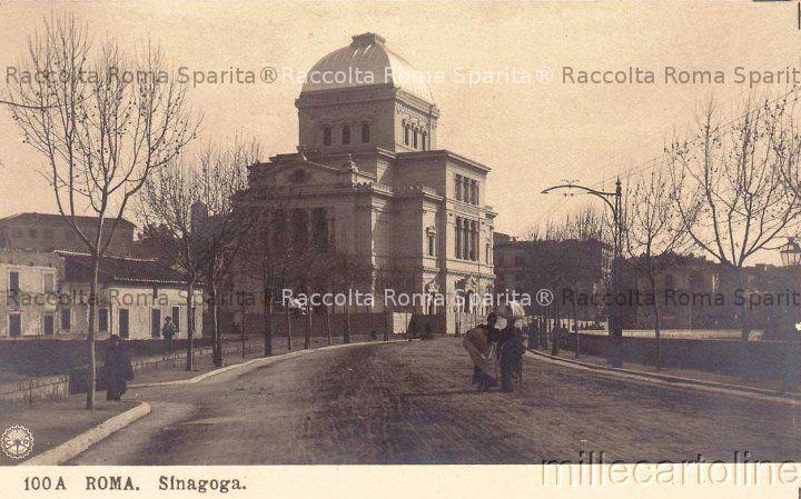 Lungotevere de' Cenci - La Sinagoga