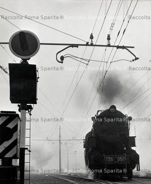 Stazione Termini - Locomotiva 736 056
