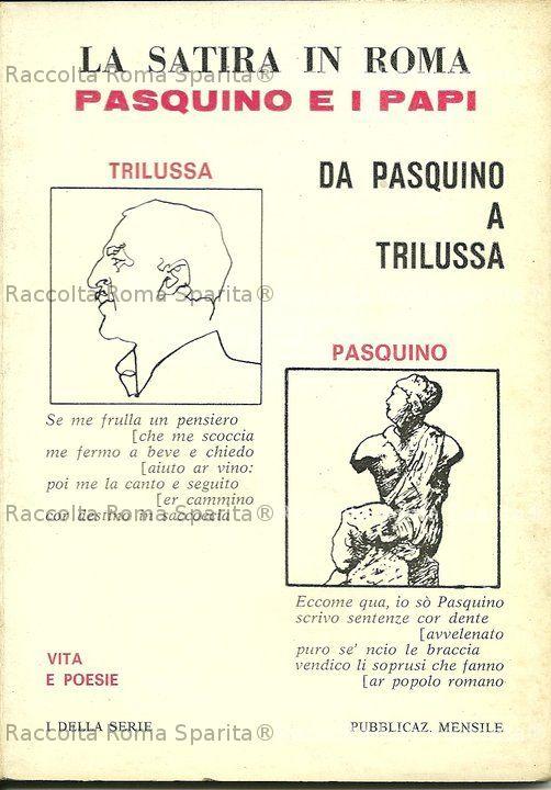 """La satira in Roma"""