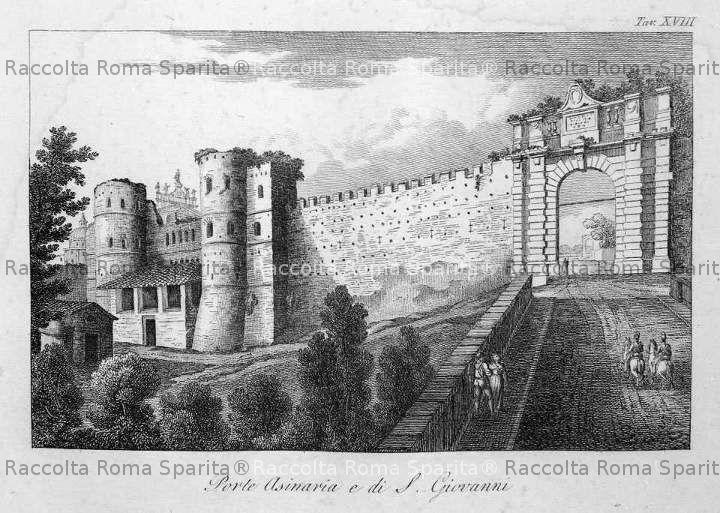 Porta San Giovanni e porta Asinaria