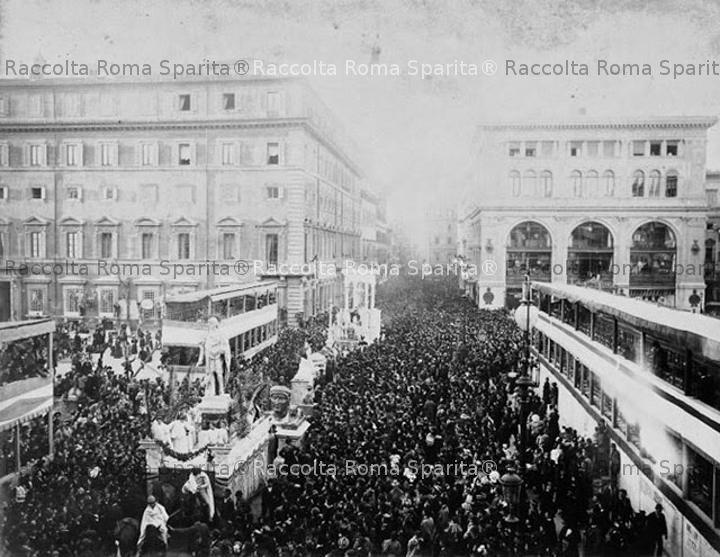 Carnevale a Via del Corso