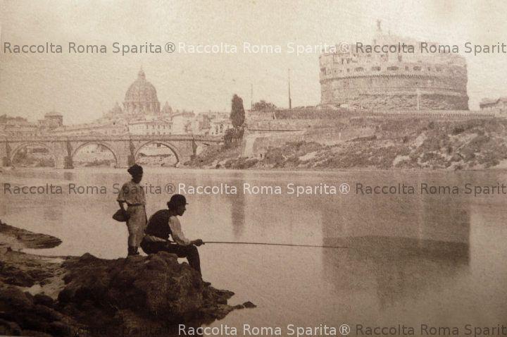 Castel Sant'Angelo ed il Tevere