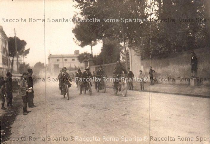 Corsa per biciclette