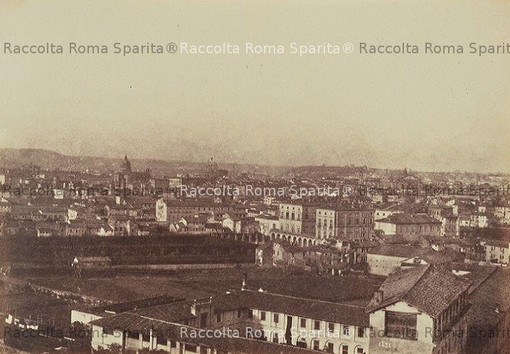 Roma Sparita Panorama Dalla Terrazza Di Via Garibaldi