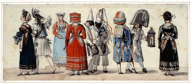 Acquista le migliori marche moda Roma Sparita - Il Carnevale Romano raccontato da Goethe - Le Maschere
