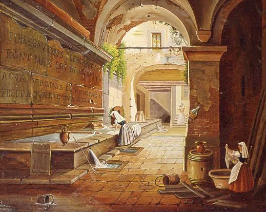 Dipinto di anonimo del XIX sec