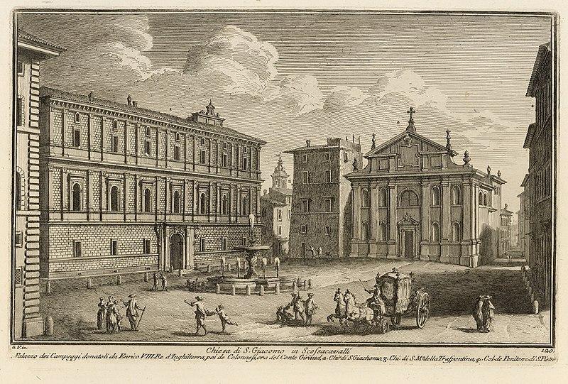 Chiesa di San Giacomo e palazzo Torlonia