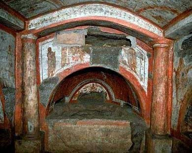 Catacombe Domitilla