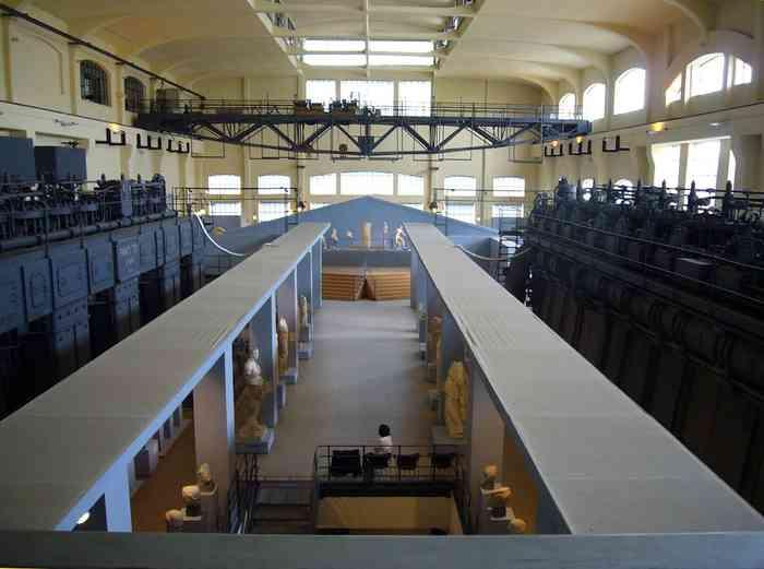 Sala macchine della Centrale
