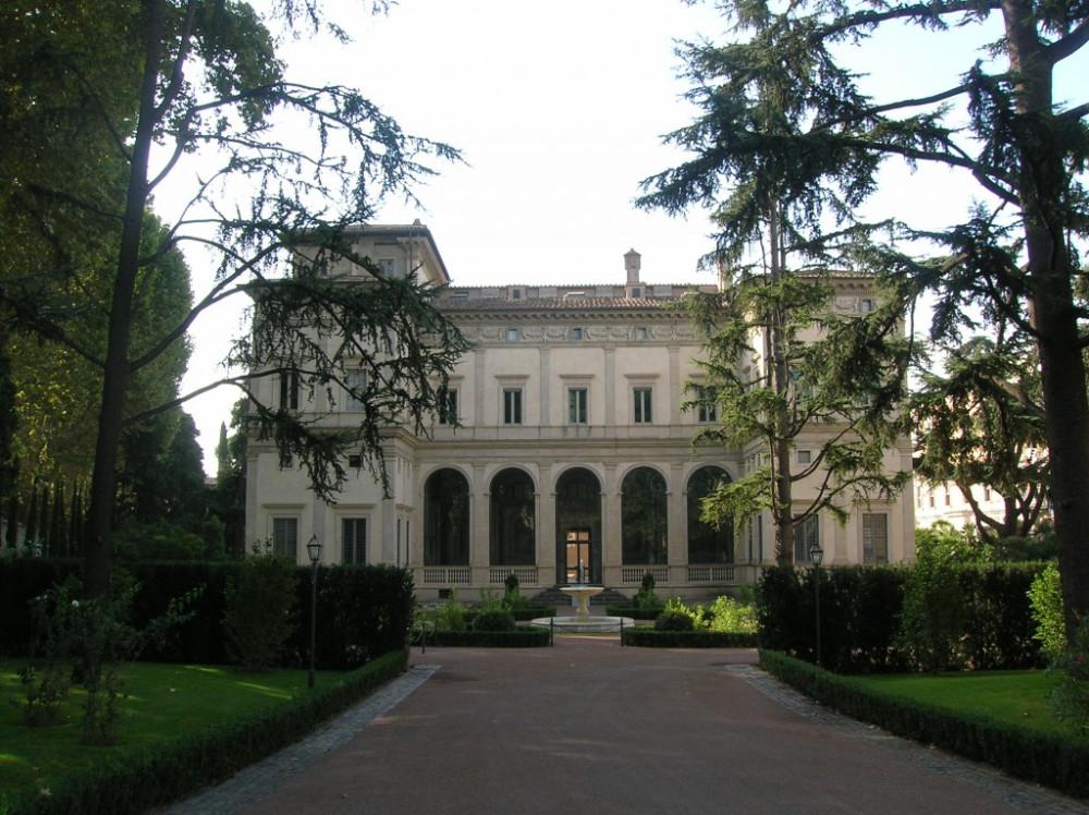 Visita guidata con roma sparita a villa della farnesina for Architetto giardini roma