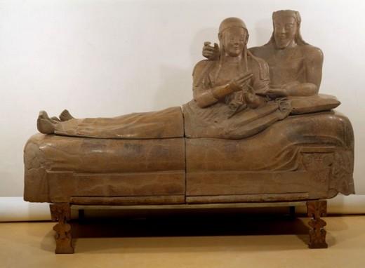 Museo-Etrusco-Villa-Giulia-Il-Sarcofago-degli-Sposi