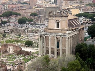 Antonino e Faustina Temple