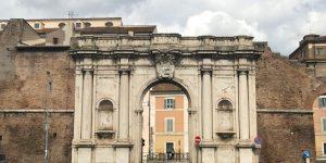 Lungo le Mura – Settimo tratto: Da Porta Ostiense a Porta Portese