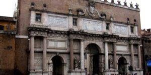 Lungo le mura – Ottavo tratto: da Porta Flaminia a Porta Pinciana